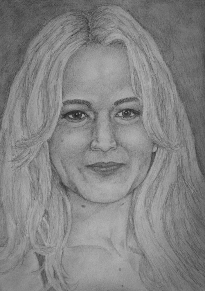 Jennifer Lawrence by Shawkeen